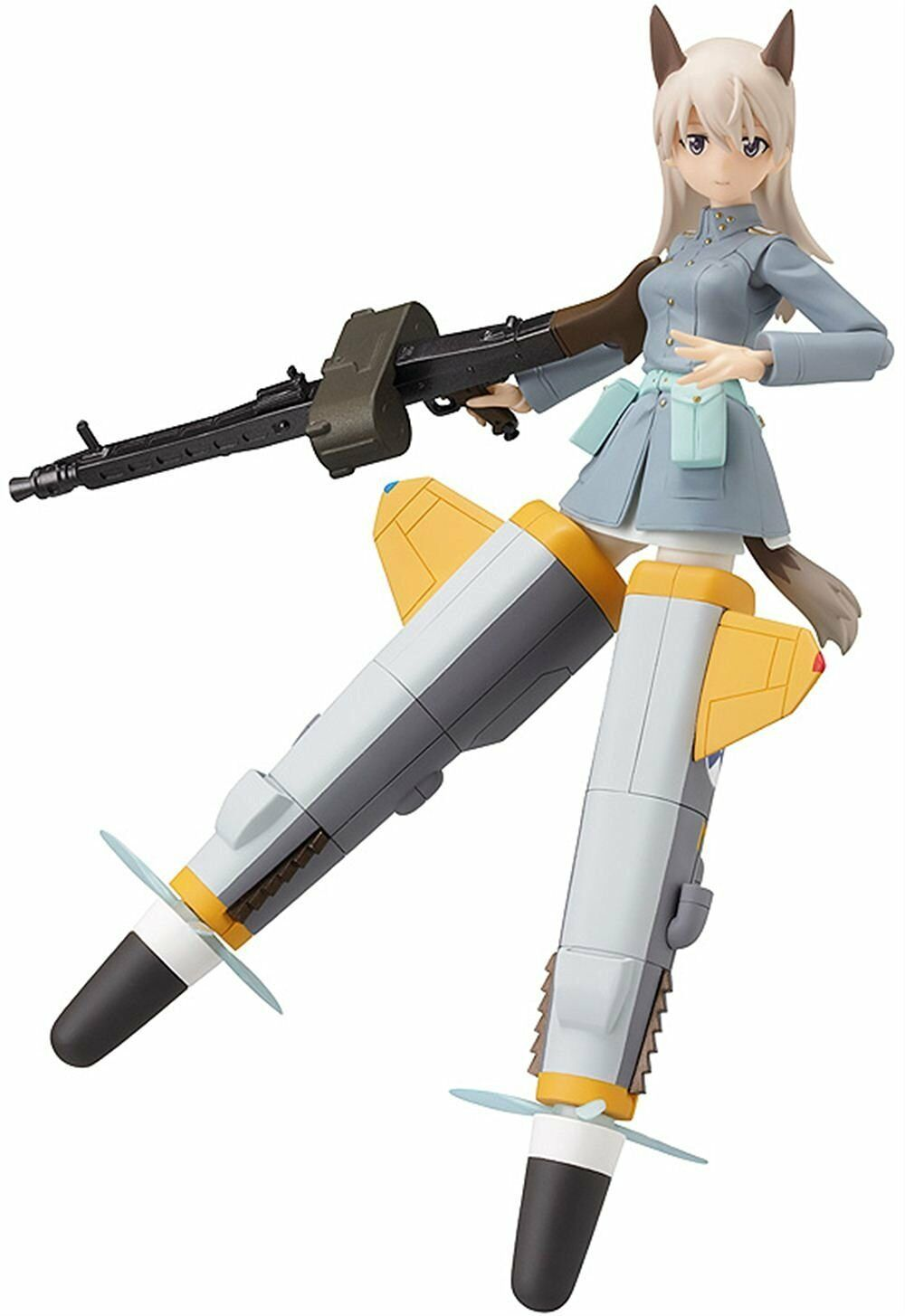 Used In Box Max Factory figma Strike Witches Eila Ilmatar Juutilainen Figure
