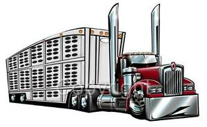 cattle trailer coloring pages - photo#17