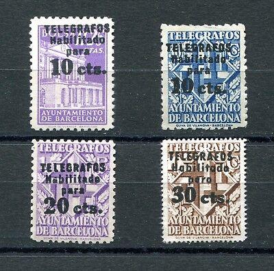 1942.espana.barcelona.telegrafos.edifil 17/20 .leve Fijasellos.(mh).cat Novel (In) Design;