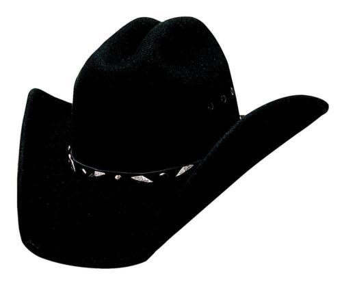 NEW Bullhide Hats 0626Bl Justin Moore Collection Guns Black Cowboy Hat