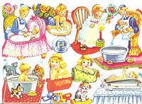 1 B. Glanzbilder Poesie Baby´s Kinder MLP 1630 Nr.245