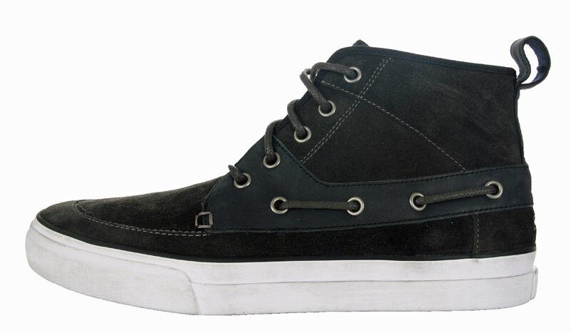 Tommy Hilfiger Smith 6 W Herren Leder Schuhe Boots Sneaker Grau NEU 42