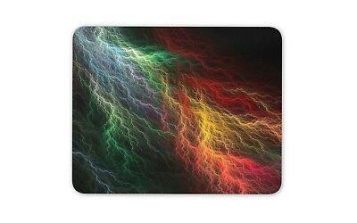 Awesome Lightning Mouse Mat Pad Electrical Weather Gaming Gift Computer #8883