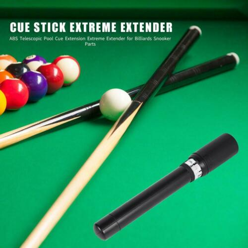 ABS Telescopic Pool Stick Extension Extreme Extender for Billiards Snooker SS6