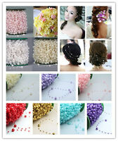 3/15/150ft Pearl Beads Garland Rope For Wedding Party Hanging Decoration Craft *