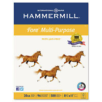 Hammermill Fore Mp Multipurpose Paper 96 Brightness 20lb 8-1/2x11 White 5000 on sale