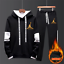 NEW-Mens-Michael-Air-23-Jordan-Tracksuit-Hoodie-and-Pants-Men-Sportswear thumbnail 8