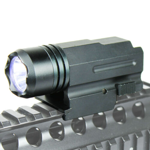 Tactical 2in1 Led Flashlight+Red Dot Laser Sight for Pistol//G17 G19 G20 G21 G22