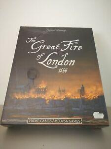 JUEGO DE MESA THE GREAT FIRE OF LONDON 1666 NUEVO PRECINTADO