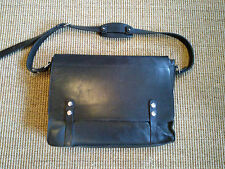 Fabulous Paul Smith by Matt Fothergill Black Leather Briefcase/Messenger Bag