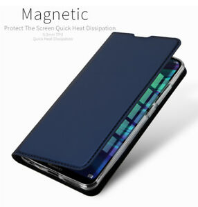 new photos 2ccbf 96abe Details about PU Leather Stand Wallet Flip Phone Case Cover For Huawei P  smart / P Smart 2019