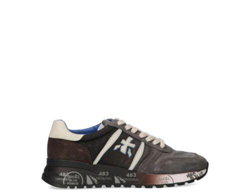 Shuhe PREMIATA Mann Sneakers trendy MARRONE//BLU  LANDER-4950
