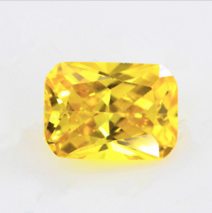 Yellow-Zircon-17-35Ct-12x16mm-Emerald-Faceted-VVS-AAAAA-Loose-Gemstone