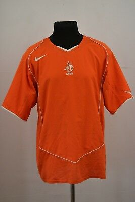 Netherlands 2004//2005//2006 Home football shirt L Jersey Soccer Camiseta Holland