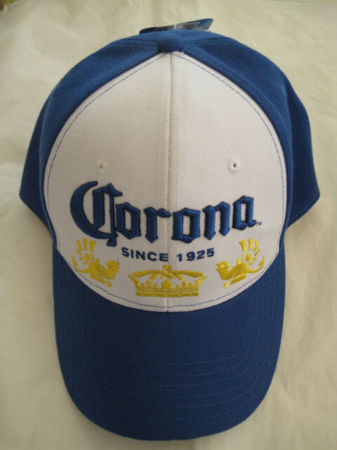 Corona Beer La Cerveza Mas Fina White Embroidered Hat Cap Beer Lover  Gift-NWT d196a7eff7f8