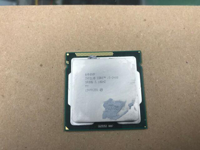 Intel Core I5-2400 CPU Processor SR00Q 3.10GHZ