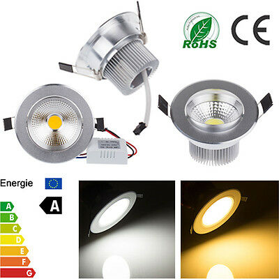 Bright Dimmable 3W 5W 7W 9W COB Led Down light Bulb Wall Recessed Ceiling Lamp