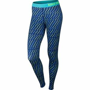 c470566cbae3a Details about NWT $55 Women's Nike Pro Core Bolt Print Compression Tights  684665-455 Size XL
