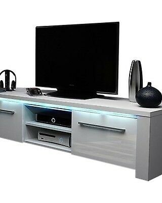 High Quality Tv Stand With 15 Colour Remote Led Lights Fourways