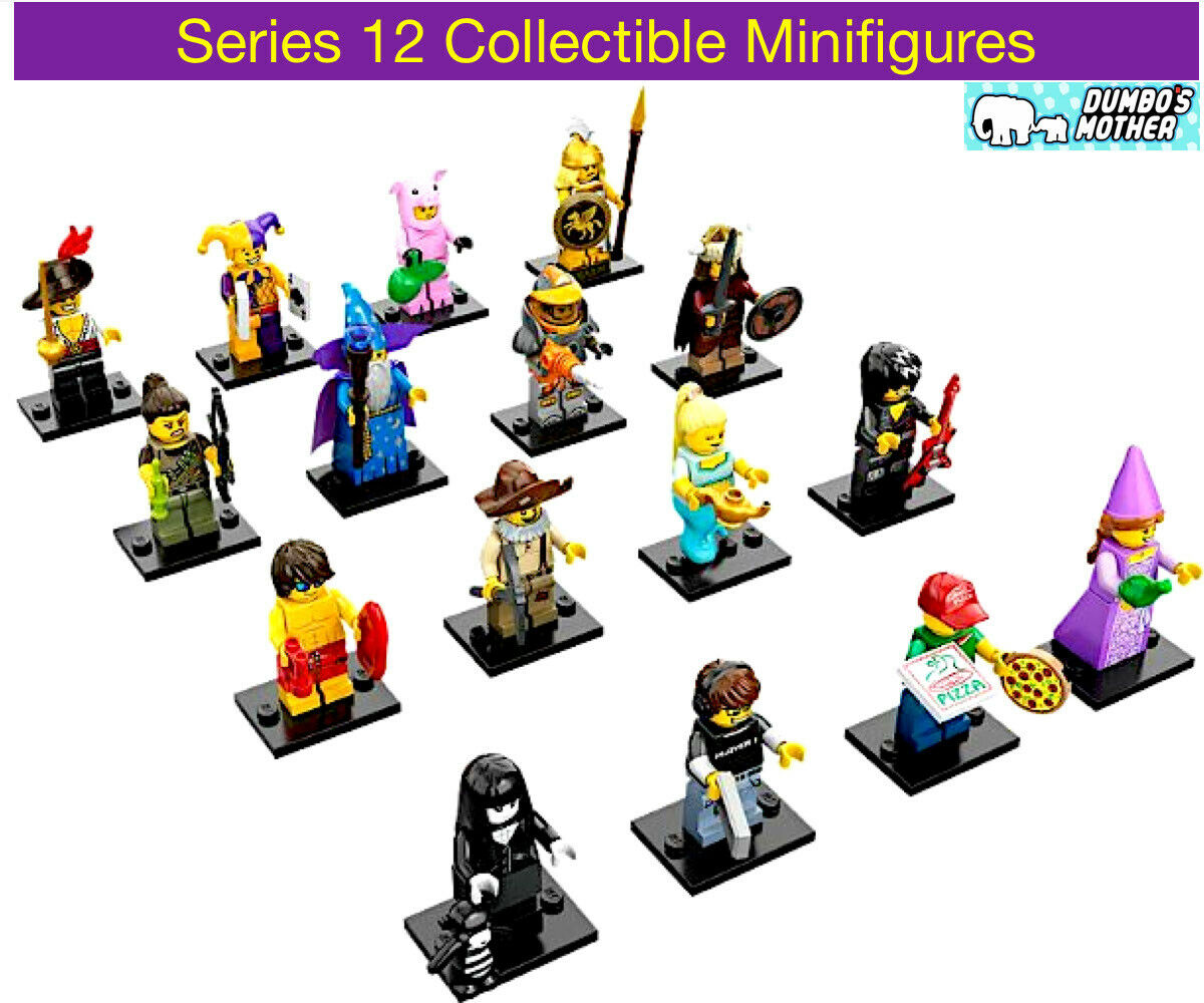 LEGO Minifigure Series 12 #71007 NEW SEALED Pick Choose