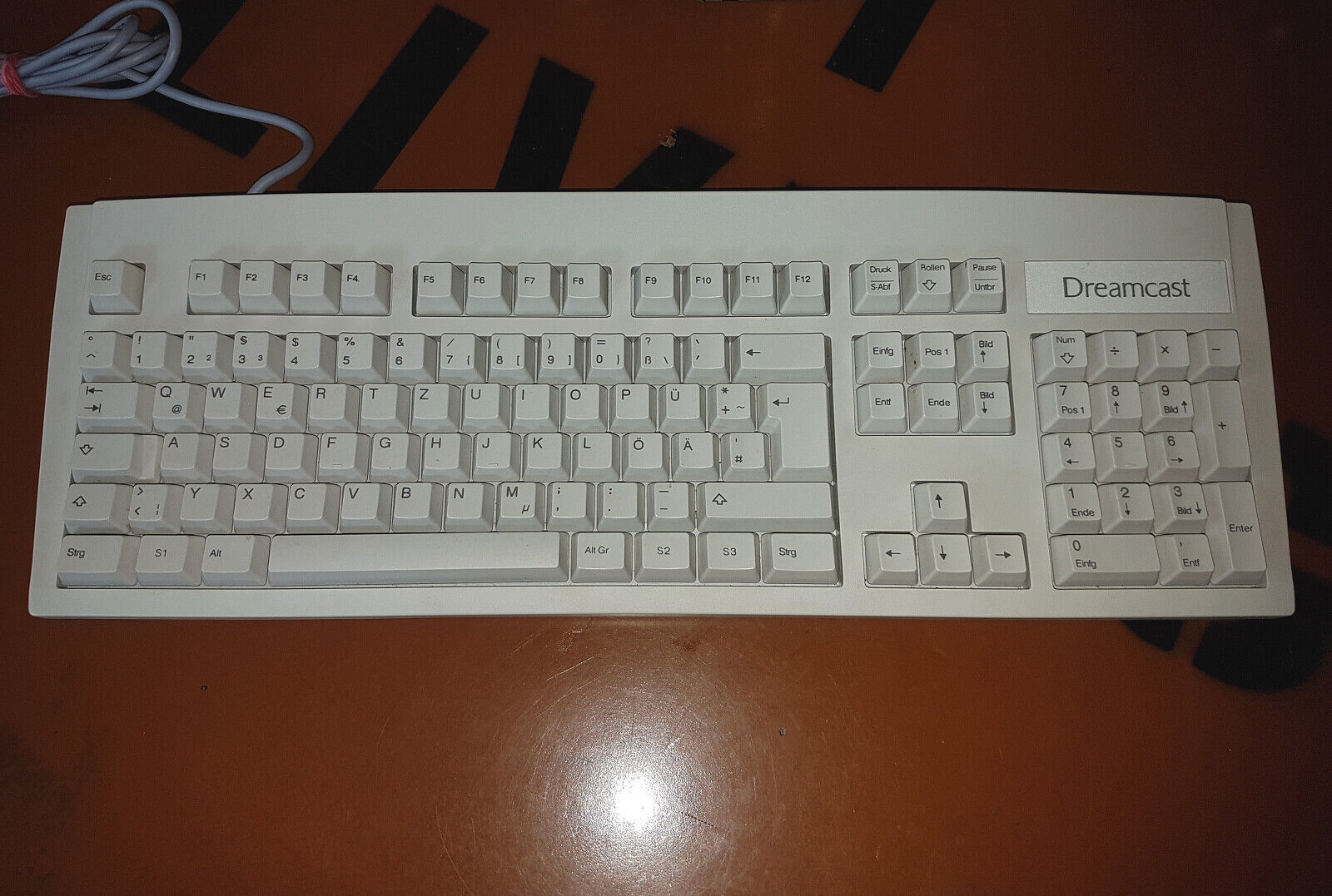 # Sega Dreamcast Keyboard/Keyboard IN Very Good Condition #