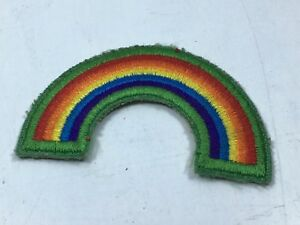 Retired girl scout cadette bridge to seniors rainbow uniform patch.