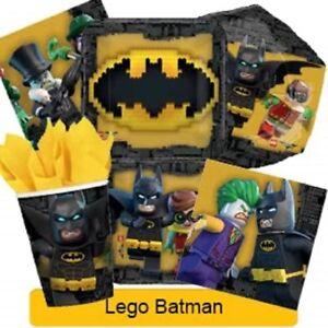LEGO-BATMAN-Birthday-Party-Range-Tableware-Balloons-amp-Decorations-Amscan