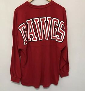 cd3ae3107254 Image is loading University-Of-Georgia-Long-Sleeve-Billboard-Dawgs-Graphic-