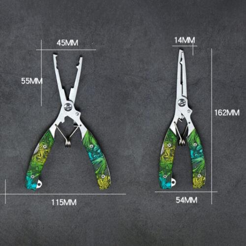 Details about  /Multi-purpose Stainless Steel Pliers Scissors Line Cutter Color Fishing Pli QW