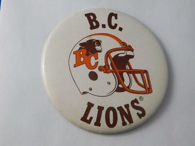 Vintage British Columbia BC Lions CFL Football Collectors Lapel Hat Jacket Pin A