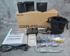 Ricoh GR GXR P10 10.0 MP Digital Camera - Black (Kit w/ VC 28-300mm Lens)