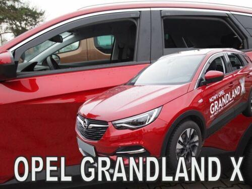 4 Deflettori Aria Antiturbo OPEL GRANDLAND X  2017 in poi 5 porte