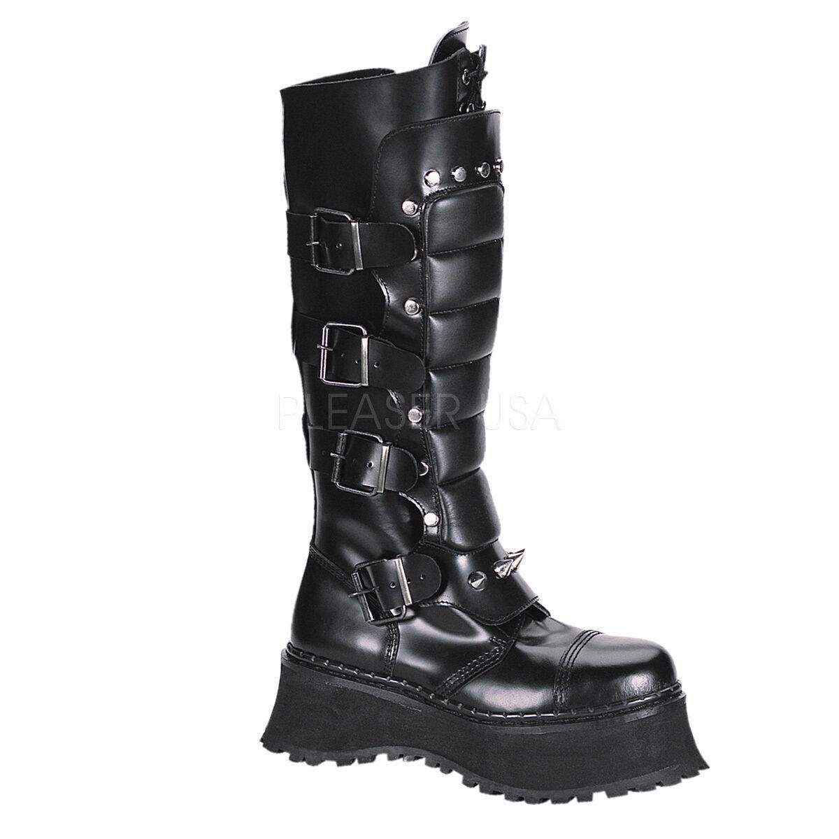 Demonia RAVAGE-II  Leather schuhe & Stiefel