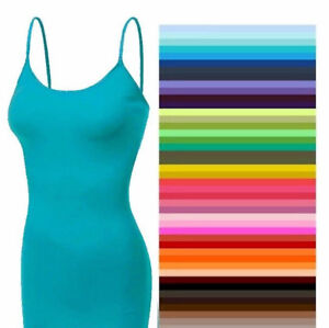 Long-Cami-With-Built-in-Shelf-BRA-Tank-Top-S-M-L-XL-ZENANA-DISCONTINUE-CLOSEOUT