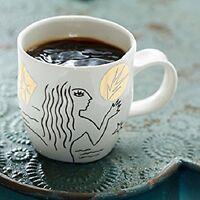 Starbucks Etched Siren Mermaid Anniversary Cup Mug 12 Oz White + Gold