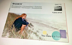 Sony-Cyber-shot-DSC-T1-Accessories-Sales-Leaflet-Booklet-from-2003