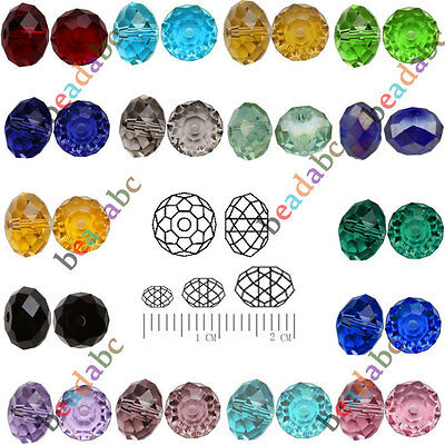 DIY 5040 Rondell 10mm 20pcs For Element Crystal Beads Charms Free Shipping