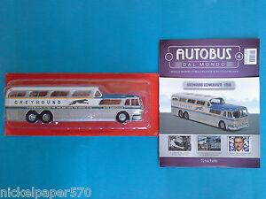 1-43-Greyhound-Scenicruiser-del-1956-AUTOBUS-DAL-MONDO-ALTAYA