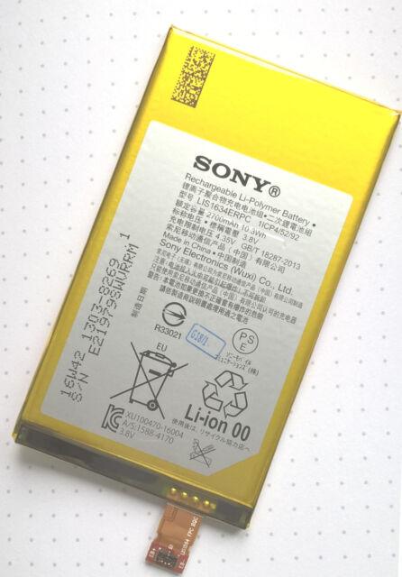 Original Sony Batería Polímero de litio lis1634erpc 1303-8269 para f53221 Xperia