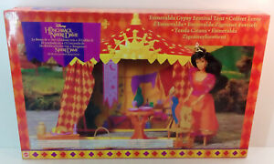 Image is loading MATTEL-DISNEY-THE-HUNCHBACK-OF-NOTRE-DAME-ESMERALDA- & MATTEL DISNEY THE HUNCHBACK OF NOTRE DAME ESMERALDA GYPSY TENT ...