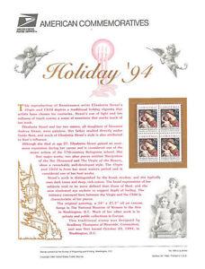 #450 29c Christmas-Traditional #2871 USPS Commemorative Stamp Panel