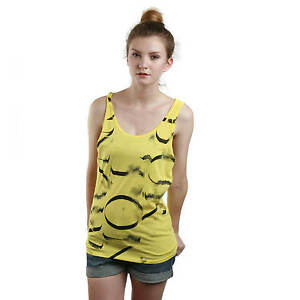 Burton-Da-Donna-Tank-Top-Shirt-giallo