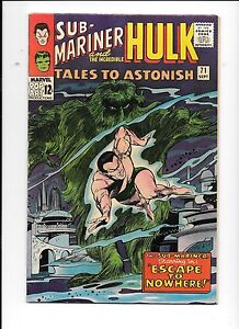 Tales-To-Astonish-71-September-1965-Sub-Mariner-Incredible-Hulk