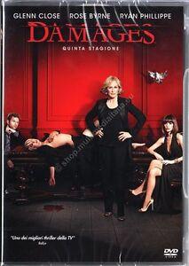 Damages-Serie-TV-Stagione-5-Cofanetto-Con-3-Dvd-Nuovo-Sigillato