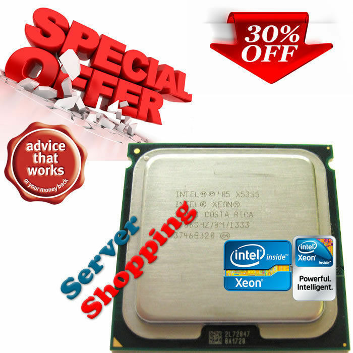 Intel Xeon X5355 SLAC4 2.66GHz/8M/1333 Socket 771 CPU Clovertown 4 Core