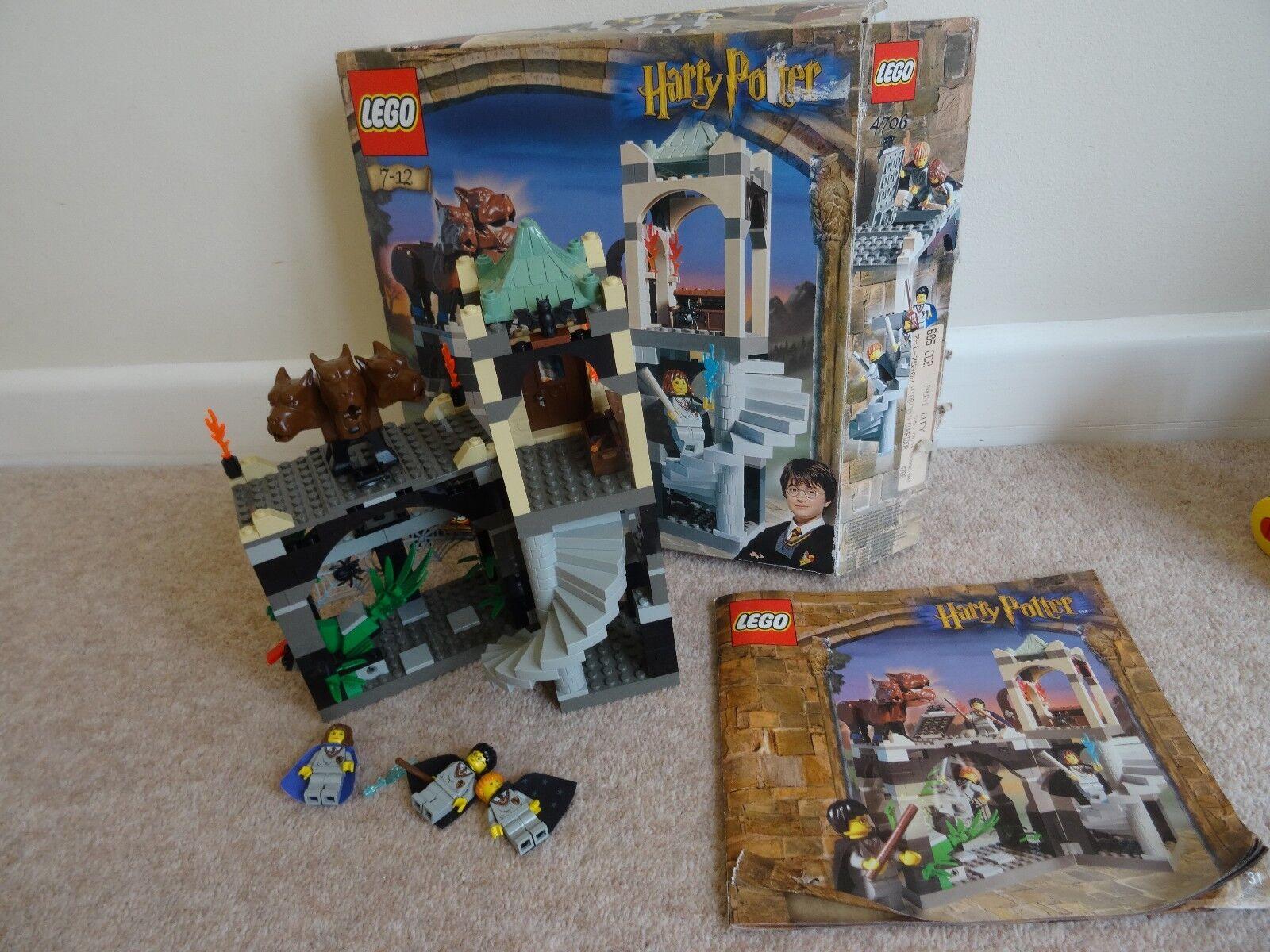 LEGO LEGO LEGO Harry Potter Forbidden Corridor 4706 99% complete d184e0