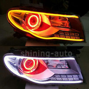 Image Is Loading 2x Car DRL Turn Signal Light Strip Amber