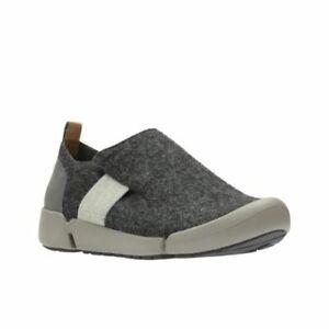 zapatos 5 Tri Combi Lily mujer 2d 1 de talla Grey Clarks Dark Unido Reino wX6UxwqP