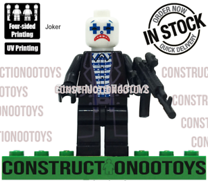 joker lego Custom PAD UV PRINTED Minifigure joker