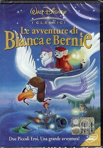 Dvd-Disney-LE-AVVENTURE-DI-BIANCA-E-BERNIE-nuovo-1977